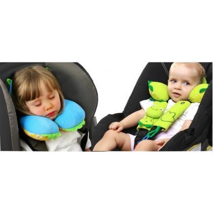 Baby Kids Benbat Travel Neck Support Pillow Headrest [READY STOCK]
