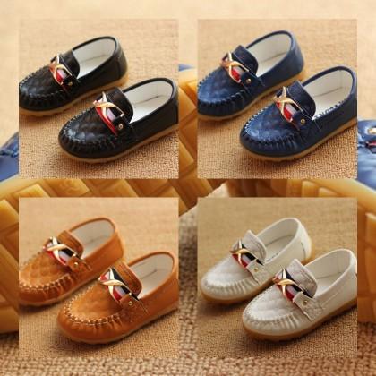 Girl/Boy Elegance Loafer Soft PU Leather Shoes