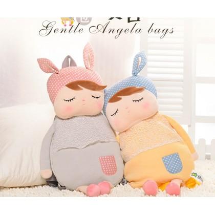 Cute SoftPlush MeToo Angela Sleeping Bunny Rabbit Doll
