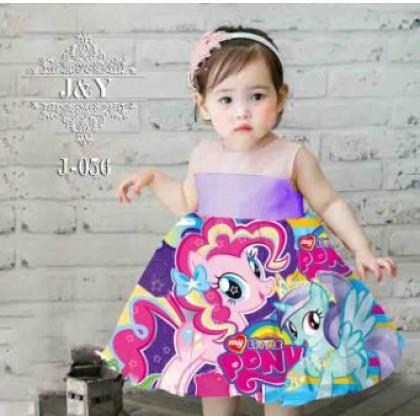 [READY STOCK] J&Y08 Princess Dresses Didi, Hello kitty, Little Pony, Sofia, Frozen Elsa Anna