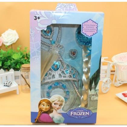 [READY STOCK] Frozen ELSA / Princess Crown set 5in1