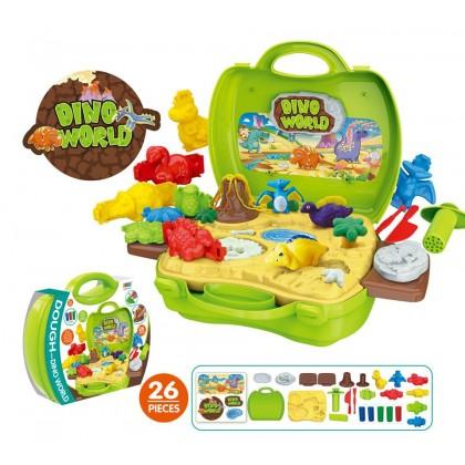 [READY STOCK] EDUCATION TOYS - Kids Playhouse Suitcase - DINO WORLD, CAKE&PARTY, CINEMA SNACK&BAR