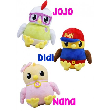 [READY STOCK] BATCH 2 Cute Plush Toy DIDI & FRIENDS NANA , JOJO _ 25cm|35cm | 45cm