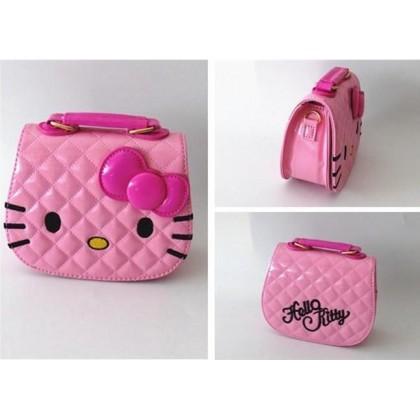 [READY STOCK] Cute Girl Hello Kitty Handbag bag   sling bag  #0708