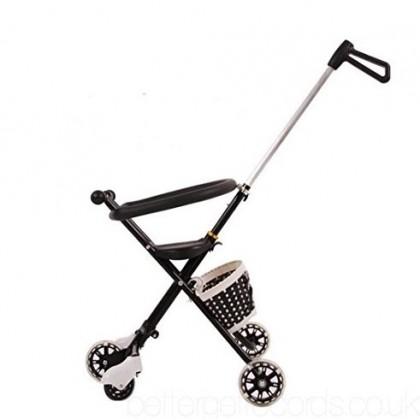 [READY STOCK] NEW 5 wheel Magic Stroller with flashing wheel + FREE BASKET