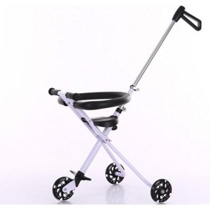 [READY STOCK] NEW 3/5 wheel Magic Stroller with flashing wheel