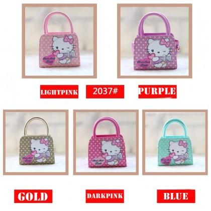 [READY STOCK] Cute Girl Hello Kitty Handbag bag   sling bag #2037