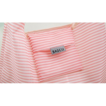 [READY STOCK] NEW Japanese Style Bagcu Reusable Foldable Shopping Bag Pouch with pattern
