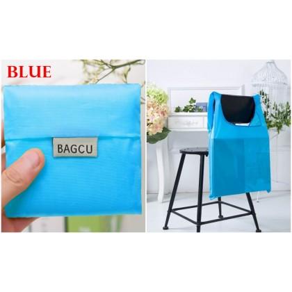 [READY STOCK] NEW Japanese Style Bagcu Reusable Foldable Shopping Bag Pouch Plain