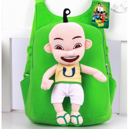 Cute Soft Plushtoy UPIN IPIN Bag Backpack