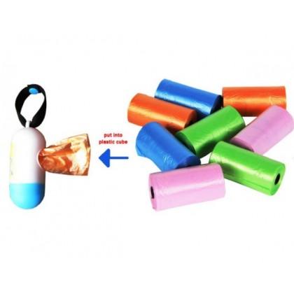 [READY STOCK] Diaper Disposable Plastic Waste Bag (Dispenser+Plastic)