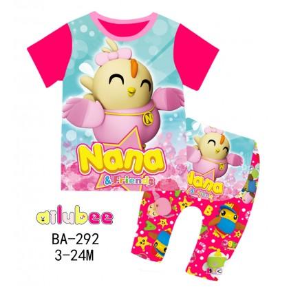 [READY STOCK] DIDI & FRIENDS Ailubee Kids Pyjamas (BA292 / 526) 3-6M