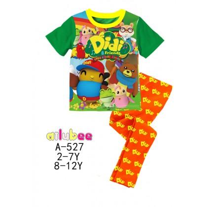 [READY STOCK] Didi&Friends Ailubee Kids Pyjamas (A527) 2-7Y