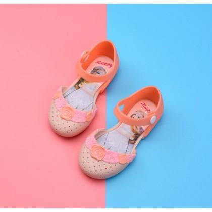 Kids Cartoon Jelly Shoes Sandal -Cute Princess