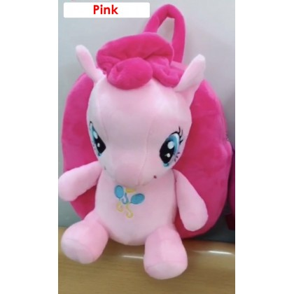 [READY STOCK] Plush Toy Pony Smaller Bag Backpack