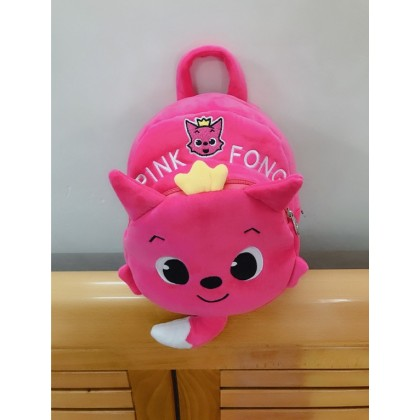 [READY STOCK] Plush Toy BABY SHARK Bag Backpack
