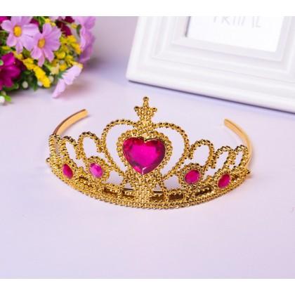 [READY STOCK] Princess Crown _Blue,Pink,Purple,Red
