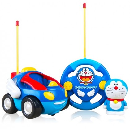 Doraemon Remote Control Car with Music+Light