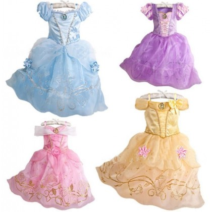 Disney Princess Most Elegance Costume Dress