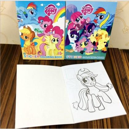 My Little Pony Coloring Colouring Books Buku Mewarna