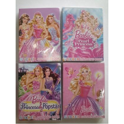 Barbie Coloring Colouring Books Buku Mewarna