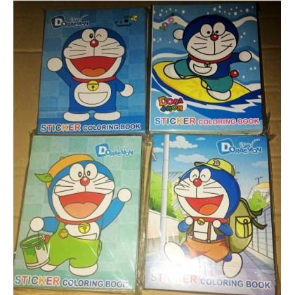 Doraemon Coloring Colouring Books Buku Mewarna