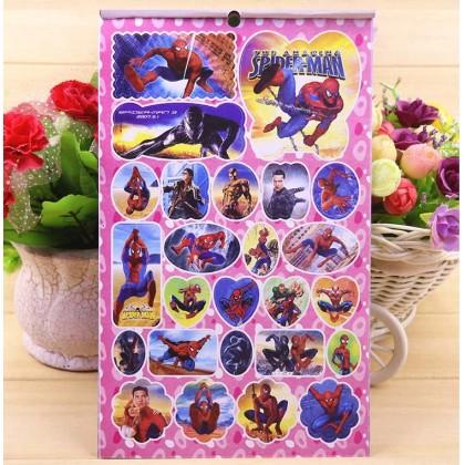 Disney Cartoon Stickers Books 200-288 pieces various size stickers Frozen Pony Spiderman Princess Doraemon Hello Kitty Thomas