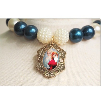 Frozen Pearl Necklace