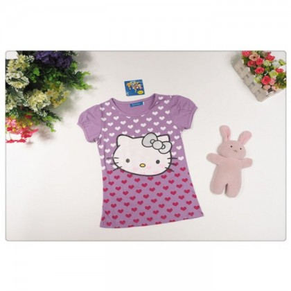 Hello Kitty Top (Purple)