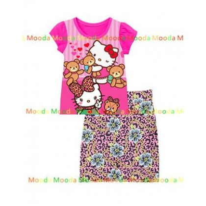 Hello Kitty Set (Top+Skirt)