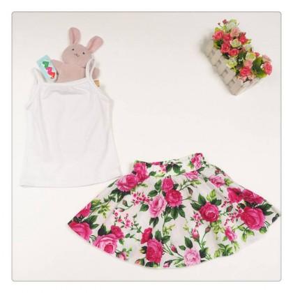 Girl Set Top+ FlowerSkirt SA4229