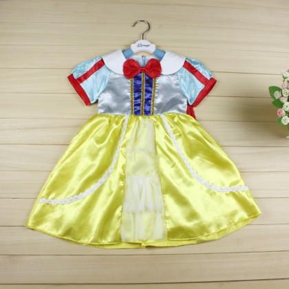 Fancy Dress Costume Princess Snow White Dresses with cape