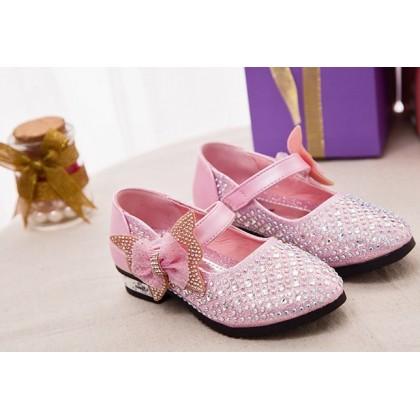 Girl Elegance Shoes- Pink